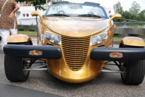 Chrystler classic car.