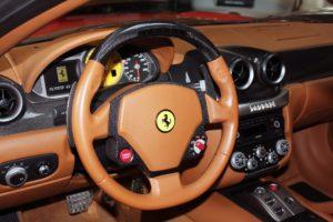 Ferrari steering wheel.