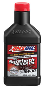 AMSOIL synthetic motor oil.