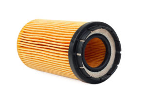 Cheap conventional car oil filter.