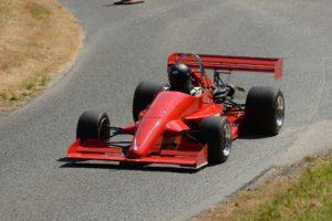 Single seater race car.