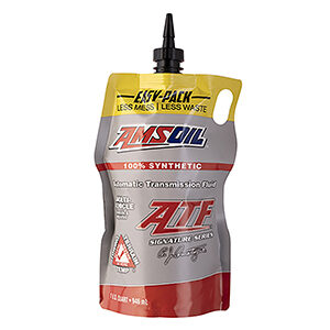 AMSOIL Signature Series Multi-Vehicle Synthetic Automatic Transmission Fluid.