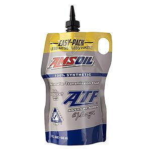 AMSOIL Signature Series Fuel-Efficient Synthetic Automatic Transmission Fluid.