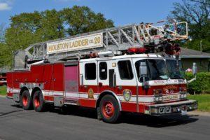 Houston fire truck.