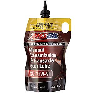 AMSOIL Manual Transmission & Transaxle Gear Lube 75W-90.