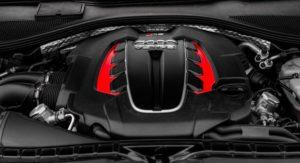 Audi RS6 turbo engine.
