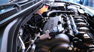 Automobile engine.