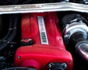 Nissan turbo engine.