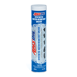 AMSOIL Synthetic Water Resistant Grease.