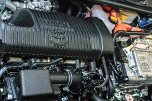 Toyota hybrid engine.