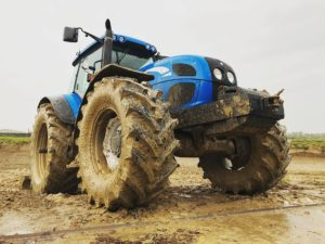 New Holland tractor.