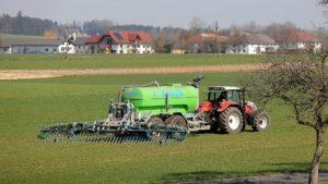 Farming tractor.