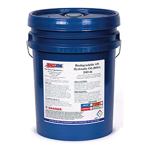 AMSOIL Biodegradable Hydraulic Oil ISO 46.