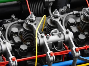 Diesel engine.