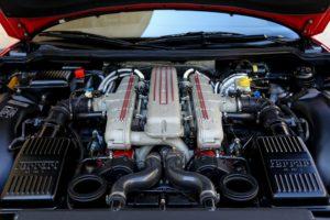 Ferrari engine.