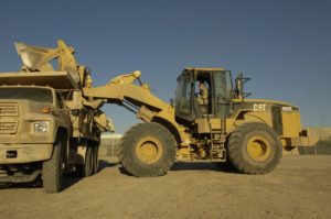 CAT excavator.