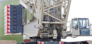 Construction site crane.