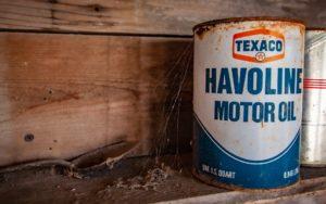 Texaco Havoline Motor Oil.