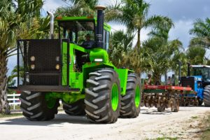 Heavy duty tractor.