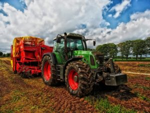 Fendt farm tractor.