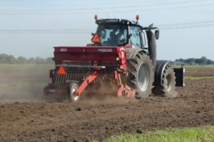 DeVries farm tractor.