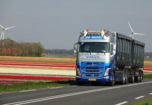 Volvo truck.