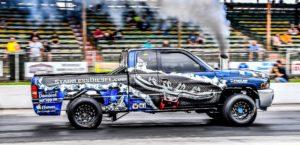 Diesel racing truck.