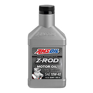 AMSOIL Z-ROD® 10W-40 Synthetic Motor Oil.