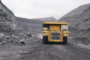 Coal mining.