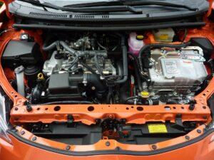 Prius engine.