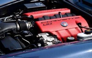 Corvette engine.