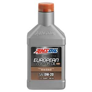 SAE 0W-20 LS-VW Synthetic European Motor Oil.