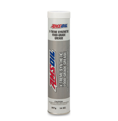 AMSOIL X-Treme Synthetic Food Grade Grease.