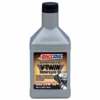 Synthetic V-Twin Motorcycle Oil