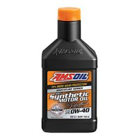 AMSOIL Signature Series 0W-40 Synthetic Motor Oil.